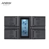 Discount Andoer Np F970 4 Channel Digital Camera Charger W Lcd Display For Sony Np F550 F750 F950 Np Fm50 Fm500H Qm71 Intl