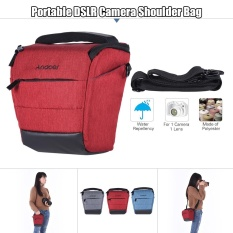 Great Deal Andoer Portable Dslr Camera Shoulder Bag Sleek Polyester Camera Case For 1 Camera 1 Lens And Small Accessories For Canon Nikon Sony Fujifilm Olympus Panasonic Intl