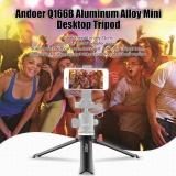 List Price Andoer Q166B Mini Desktop Tripod Aluminum Alloy Table Tripod Stand With 1 4 To 3 8 Adapter Scr*W For Dslr Camera Monopod Selfie Stick Tripod Head Intl Andoer