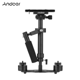 Best Andoer S40 Professional 40Cm Aluminum Alloy Handheld Stabilizer With Quick Release Plate And Clamp Base For Canon Nikon Sony Dslr Cameras Lightweight Camcorders Max Load 2Kg Intl