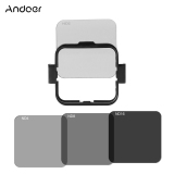 Review Andoer Square Lens Filter Protector Kit Set Nd2 Nd4 Nd8 Nd16 For Gopro Hero4 Session W Filter Mounting Frame Holder Andoer
