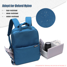 List Price Andoer Water Resistant Shockproof Dslr Camera Bag Photography Video Backpack Leisure Shoulder Bag For Nikon Canon Sony Pentax Sony Camera W Rain Cover Andoer