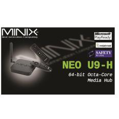 Sale Android Minix Neo U9 H Newest 4K Tv Media Box A3 Air Mouse Minix Original