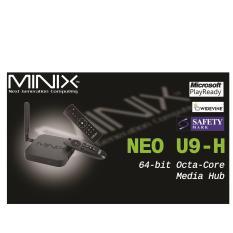 Android Minix Neo U9 H Newest 4K Tv Media Box Iptv 1 Year Promo Code