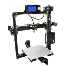 Anet A2 High Precision Desktop 3D Printer Kits DIY Self Assembly LCD Screen  Aluminum Alloy Frame Reprap i3 with 8GB SD Card Printing Size