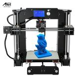 Anet A6 High Precision Big Size Desktop 3D Printer Kits Reprap I3 Diy Self Assembly Lcd Screen With 16Gb Sd Card Printing Size 220 220 250Mm Support Abs Pla Hip Pp Wood Filament Shopping