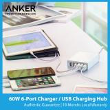 Price Anker Powerport 6 60W 6 Port Usb Fast Charger Sg Plug Anker