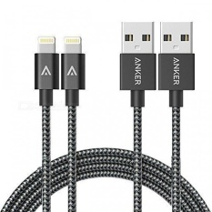 Best Rated Anker 6Ft Nylon Braided Usb Cable With Lightning Connector Space Gray Intl