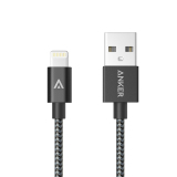 Discount Anker Best Nylon Braided Lightning To Usb 9M Mfi Certified Charge Cable For Lightning To Usb Cable For Iphone Black Anker