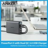 Cheaper Anker Powerport 5 Dual Quick Charge 3 Usb Charger Sg Plug