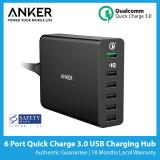 How To Buy Anker Powerport 6 6 Port Quick Charge 3 Usb Charger Sg Plug Best Seller