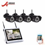 Get Cheap Anran 4Ch 12 Lcd Nvr Wifi Surveillance System 720P Ip Camera Wifi Ir Night Vision Outdoor P2P Home Security Camera