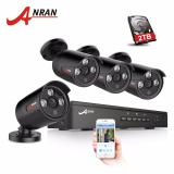 Cheap Anran 4Ch Nvr 48V Poe Cctv System Onvif P2P 1080P Hd H 264 Ir Motion Detection Outdoor Security Poe Ip Camera