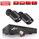 Buy Anran 1080P Surveilliance Camera System 4 Channels With 2 2 Megapixel Poe Ip In Outdoor Cameras With 1Tb Hdd Cheap China
