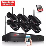 Price Anran 8Ch Wireless Nvr Surveillance System 960P Hd Ir Outdoor Cctv Wifi Ip Security Camera System Anran China