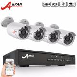 Who Sells Anran Ar K04P2 03Nw 4Ch 1080P Poe Nvr Security System With 4 1080P Hd Ip Night Vision Surveillance Cctv Camera Cheap