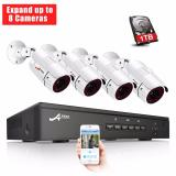 Who Sells Anran Poe Home Security Camera System 1080P Video Surveillance 8 Channel 1Tb Hard Drive 4 Outdoor Indoor Ip Cameras