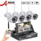 Best Rated Anran Wireless Cctv System Nvr Kit 7 Inch Lcd Screen P2P 720P Hd 36 Ir Wifi Ip Camera Outdoor Security Camera Intl