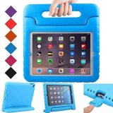 Cheap Aoobcc Ipad Air Case Kids Case Shockproof Convertible Handle Eva Super Protective Stand Cover For Apple Ipad Air Ipad 5Th Generation 2013 Release 9 7 Inch Tablet Blue Intl