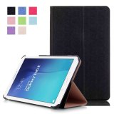 Aoobcc Samsung Galaxy Tab E 9 6 Case Slim Folding Cover For Samsung Galaxy Tab E Tab E Nook 9 6 Inch Tablet Fit Both Wifi And Verizon 4G Lte Version Black Intl Review