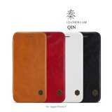 Price Apple Iphone 7 8 Black Brown White Red Qin Leather Flip Case By Nillkin Online Singapore