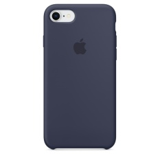 Cheapest Apple Iphone 8 7 Silicone Case Midnight Blue