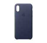 Cheap Apple Iphone X Leather Case Midnight Blue Online