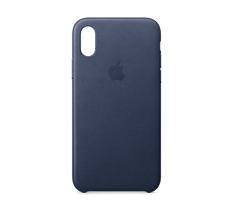 Where To Buy Apple Iphone X Leather Case Midnight Blue