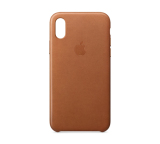 Review Apple Iphone X Leather Case Saddle Brown Apple On Singapore