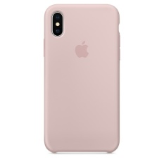 Sale Apple Iphone X Silicone Case Pink Sand On Singapore