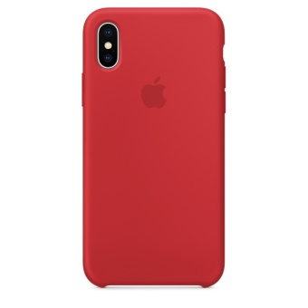 Lowest Price Apple Iphone X Silicone Case Product Red