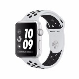 Discount Apple Watch Nike Gps 38Mm Silver Aluminium Case With Pure Platinum Black Nike Sport Band