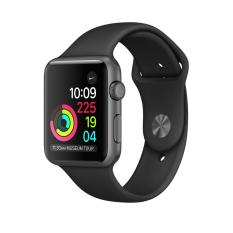 Apple Watch Series 1 38Mm Space Grey Aluminium Case With Black Sport Band Shop