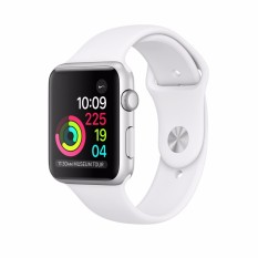 Sales Price Apple Watch Series 1 42Mm Silver Aluminium Case With White Sport Band