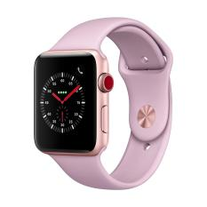 Sales Price Apple Watch Series 3 Gps Cellular 42Mm Gold Aluminium Case With Pink Sand Sport Band