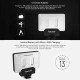 Sale Aputure Al M9 Amaran Lighting Up Pint Sized Fill Light Mini Video Light With 9 Smd Bulbs Tlci 95 9 Steps Adjustable Brightness Ultra Thin Lightweight Aputure