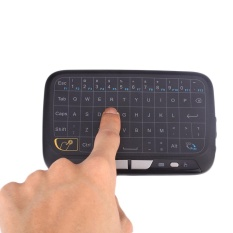 Price Arcic Land H18 Wireless 2 4Ghz Touchpad Mini Keyboard Air Mouse For Google Smart Tv Intl On China