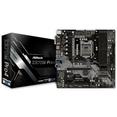 Sale Asrock Z370M Pro4 Lga 1151 300 Series Intel Z370 Hdmi Sata 6Gb S Usb 3 1 Micro Atx Intel Motherboard Asrock On Singapore