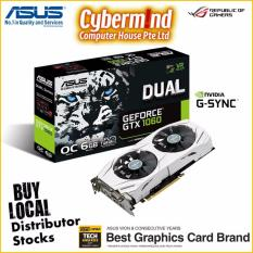 Sale Asus Dual Geforce Gtx 1060 Oc Edition 6Gb Gddr5 Graphics Card Online On Singapore