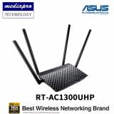 Compare Price Asus Rt Ac1300Uhp Ac1300 Dual Band Wi Fi Router With Mu Mimo And Parental Controls Asus On Singapore