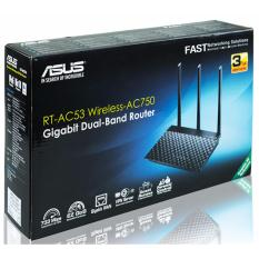 Asus Rt Ac53 Ac750 Dual Band Wifi Router With High Power Design Vpn Server And Time Scheduling For Sale