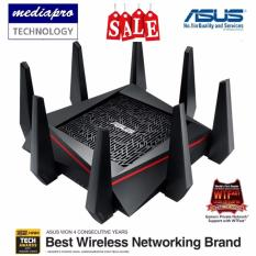 Sale Asus Rt Ac5300 Ac5300 Tri Band Wi Fi Gigabit Router Exclusive Built In Game Accelerator From Wtfast® Singapore