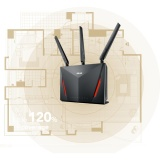 Asus Rt Ac86U Ac2900 Dual Band Gigabit Wifi Gaming Router With Mu Mimo Aimesh For Mesh Wifi System Aiprotection Network Security By Trend Micro Wtfast Game Accelerator And Adaptive Qos Coupon Code