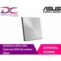 ASUS ZenDrive Ultra-slim External DVD Re-writer- SLIVER