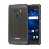 Asus Zenfone 3 Ze552Kl Case Ultra Thin Metal Brushed Premium Aluminum Shockproof Protective Bumper Hard Back Case Cover For Asus Zenfone 3 Ze552Kl Black Intl On Line