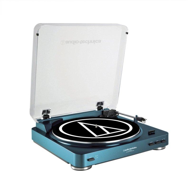 Audio-Technica AT-LP60-USB Turntable (Blue) Singapore