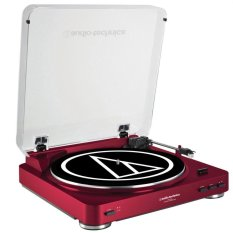 Best Audio Technica At Lp60 Usb Turntable Red