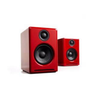 Deals For Audioengine A2 Powered Speakers Red From Authorized Distributor Official Product