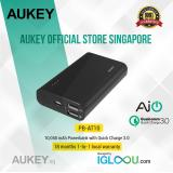 Buy Aukey 10 050Mah Quick Charge 3 Power Bank Black 10001 15000Mah Online