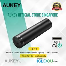 Discount Aukey 5000Mah Usb C Universal Power Bank Aukey Singapore